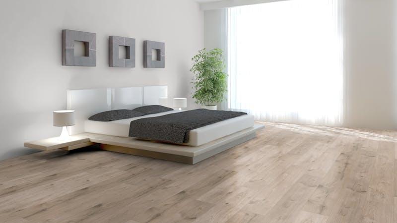 Laminat BoDomo Klassik Peau Oak Bright Produktbild Schlafzimmer - Urban zoom