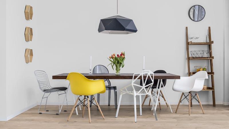 Laminat BoDomo Klassik Peau Oak Bright Produktbild Küche & Esszimmer - Modern mit Treppe zoom