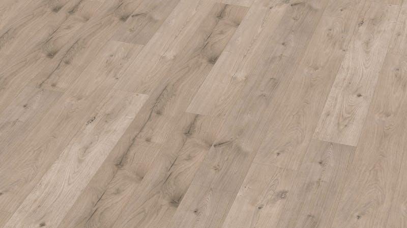 Laminat BoDomo Klassik Peau Oak Bright Produktbild Musterfläche von oben grade zoom