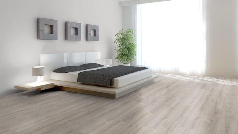 Laminat BoDomo Exquisit Roble Grey Produktbild Schlafzimmer - Urban zoom