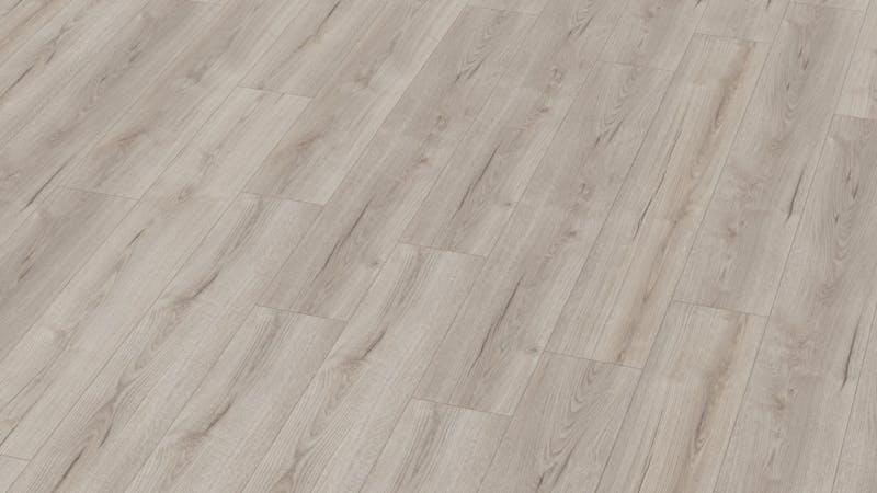 Laminat BoDomo Exquisit Roble Grey Produktbild Musterfläche von oben grade zoom