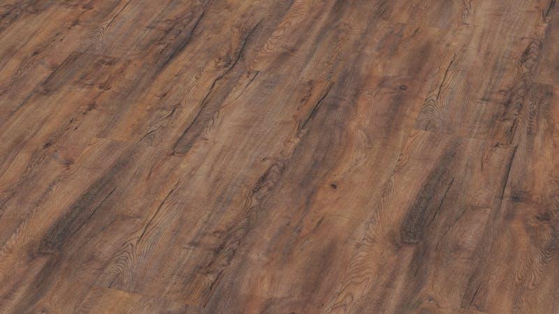 Laminat BoDomo Premium Fallito Oak Nature Produktbild Musterfläche von oben grade zoom