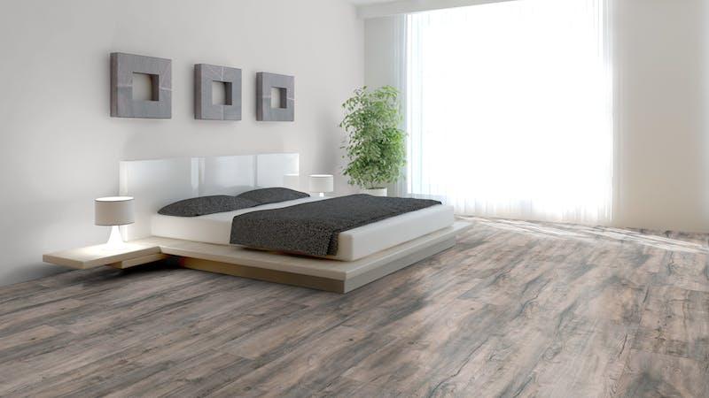 Laminat BoDomo Premium Fallito Oak Grey Produktbild Schlafzimmer - Urban zoom