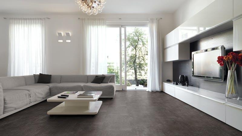 Klick-Vinyl BoDomo Premium New Loft Station Produktbild Wohnzimmer - Urban mit Wohnwand zoom