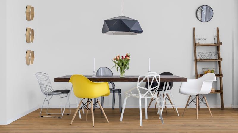 Laminat BoDomo Klassik Capri Oak Produktbild Küche & Esszimmer - Modern mit Treppe zoom