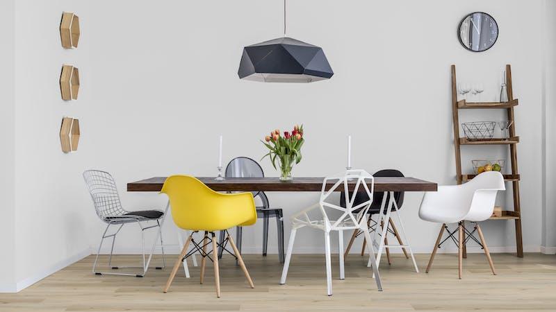 Rigid-Vinyl mit integrierter Dämmung BoDomo Klassik Straßburg grey Produktbild Küche & Esszimmer - Modern mit Treppe zoom