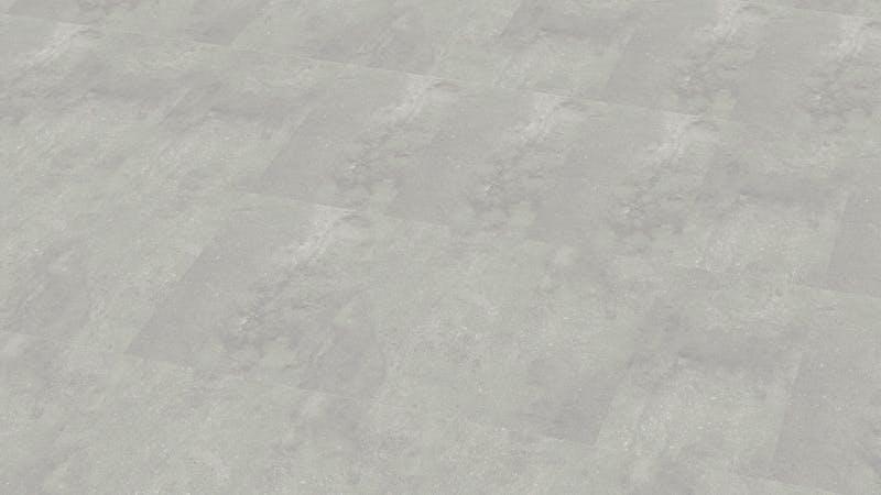 Rigid-Vinyl mit integrierter Dämmung BoDomo Klassik Kamea grey Produktbild Musterfläche von oben grade zoom