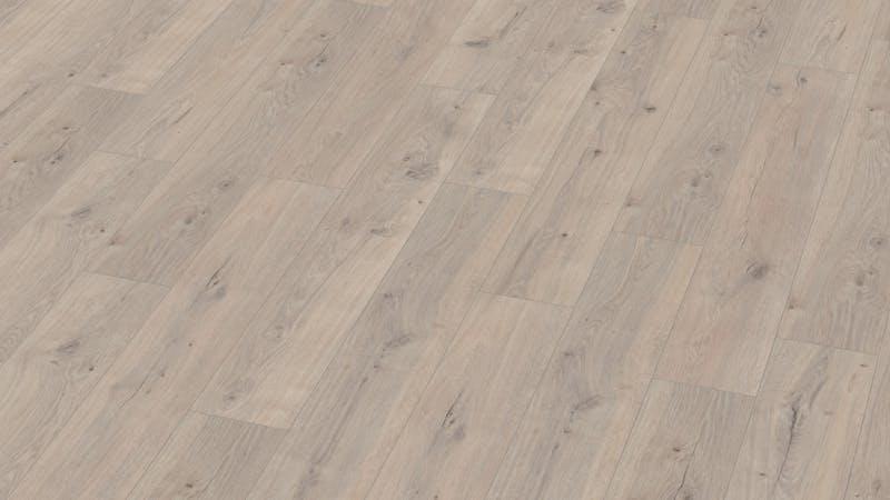 Laminat BoDomo Klassik Tajo Eiche Produktbild Musterfläche von oben grade zoom